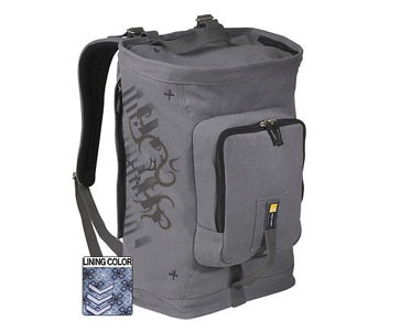 Case Logic Canvas Backpack 50 x 20 x 30 cm = 30 Liters (19.6 x 7.8 x 11.8 in)
