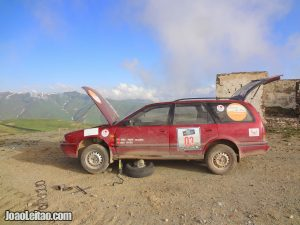 Central Asia Rally – 6500 km / 4000 mi road trip adventure