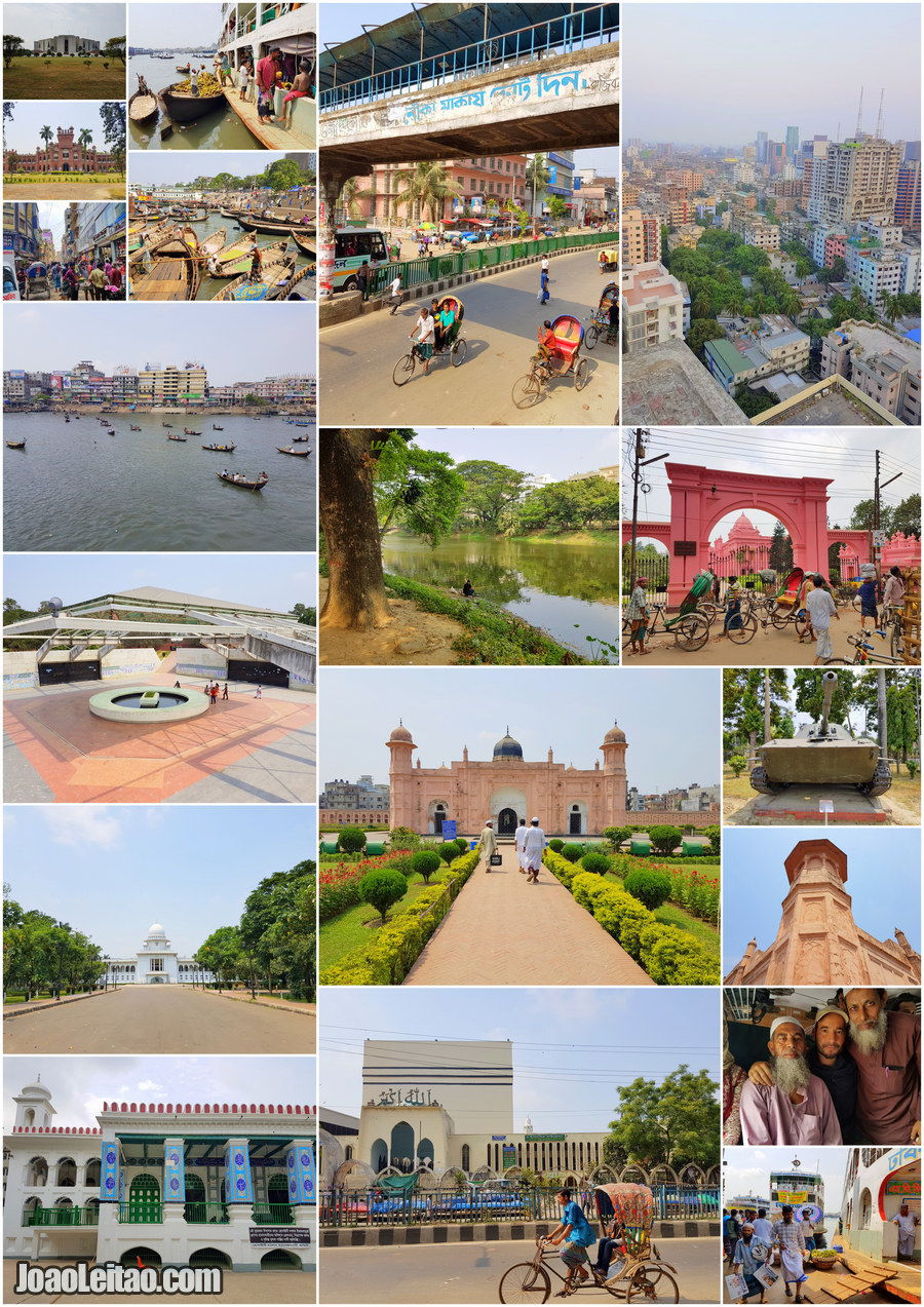 What to visit in Dhaka