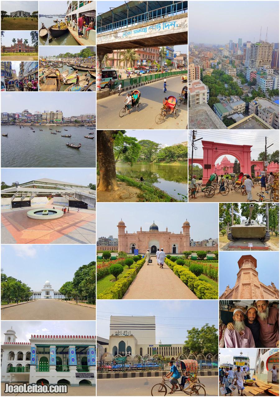 O que visitar em Daca