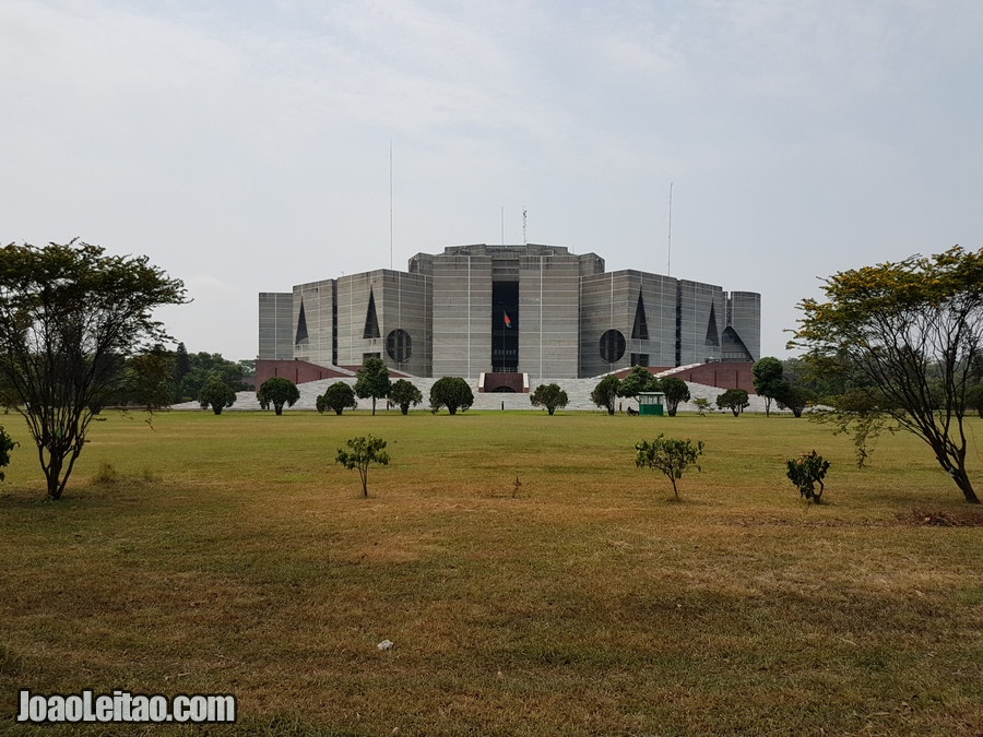 National Parliament House in Dhaka