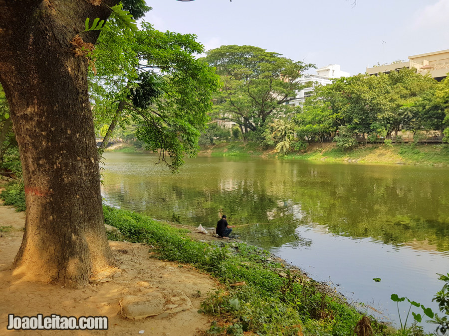 Lago Dhanmondi em Daca