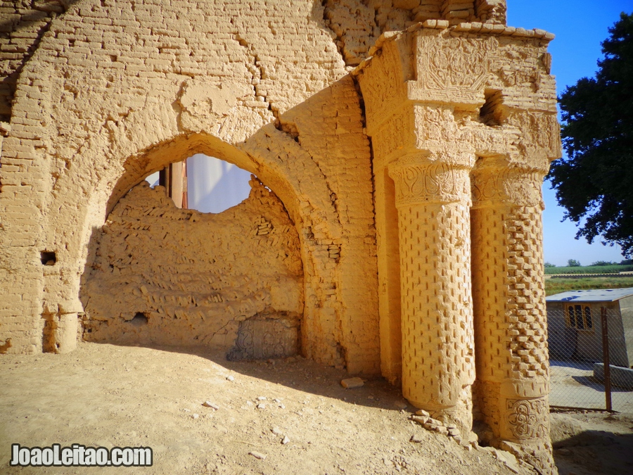 Haji Piyada Mosque in Balkh, northern Afghanistan