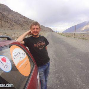 João Paulo Peixoto in Tajikistan