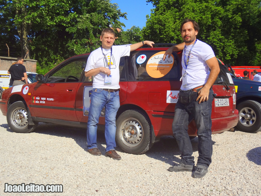 João Paulo Peixoto and João Leitão in Budapest Hungary