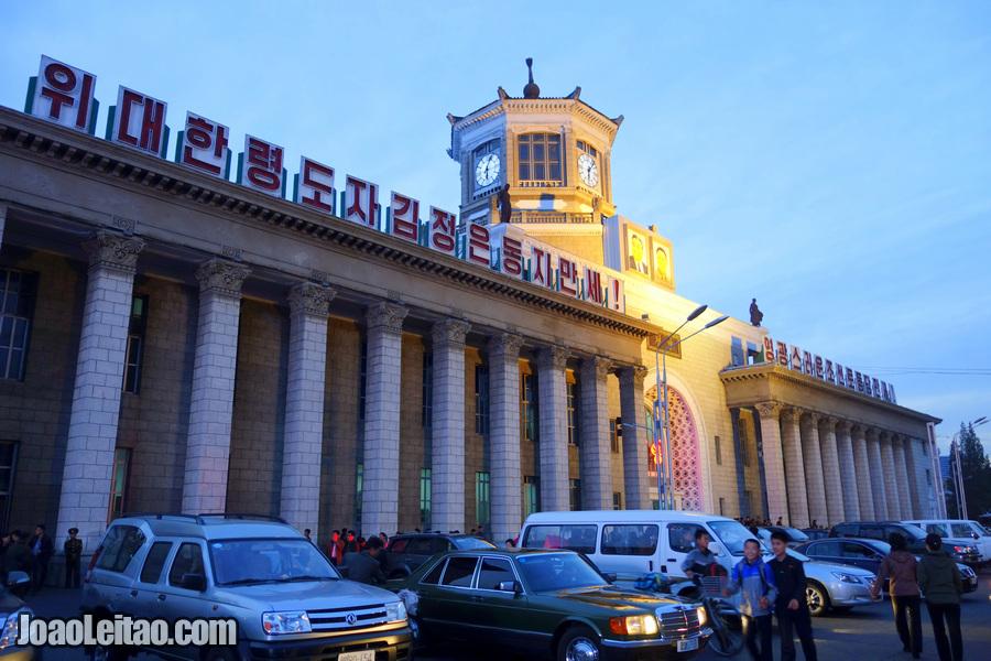 Estação de comboio - Pyongyang