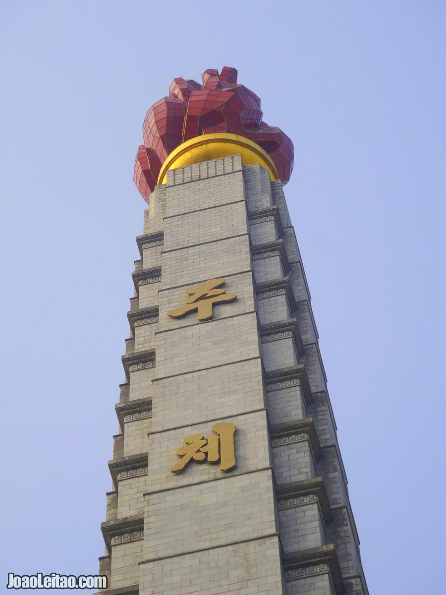 Torre Juche - Pyongyang