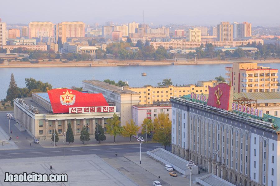 Praça Kim Il-sung - Pyongyang