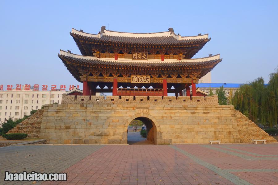 Porta de Taedongmun - Pyongyang
