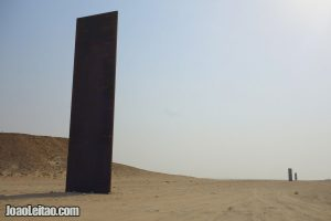 Richard Serra's Sculpture East-West / West-East in Qatar