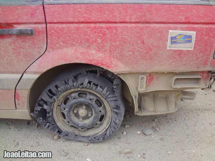 Team Central Asia car rally