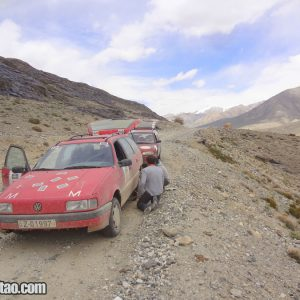 Team Central Asia car rally