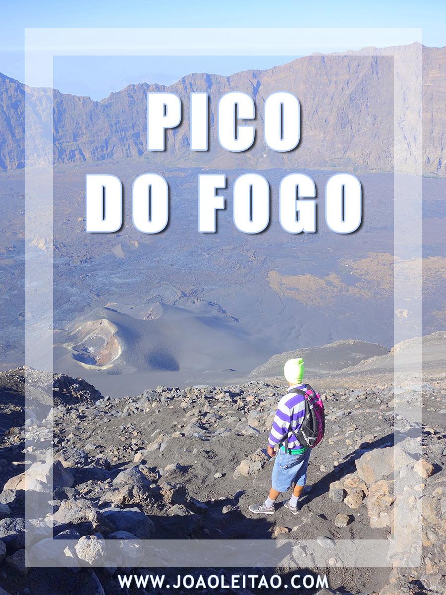 Climbing the Pico do Fogo active volcano in Cape Verde