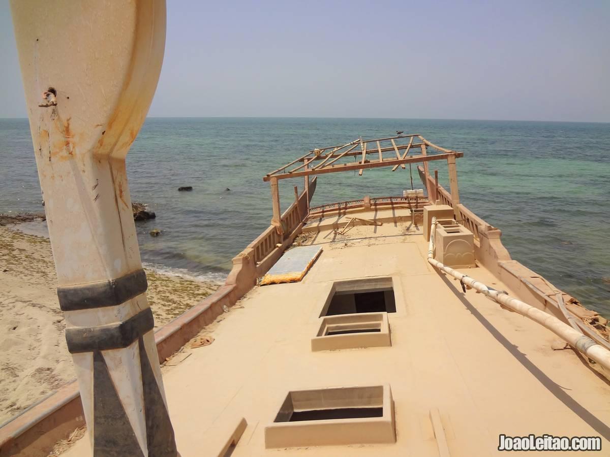 SHIP WRECK OMAN