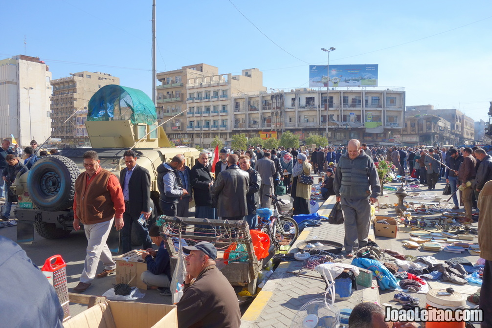 FRIDAY STREET MARKET IN BAGHDAD