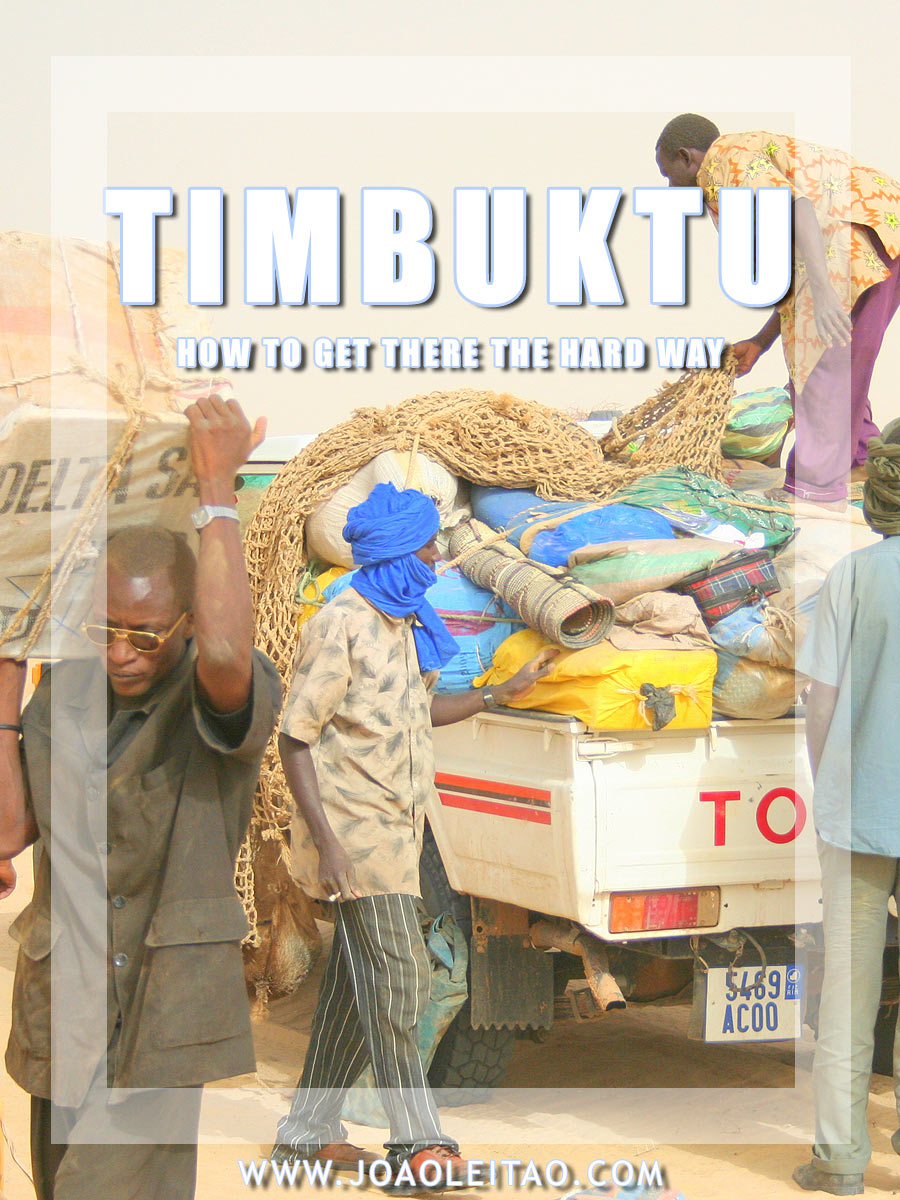 HOW TO GET TO TIMBUKTU
