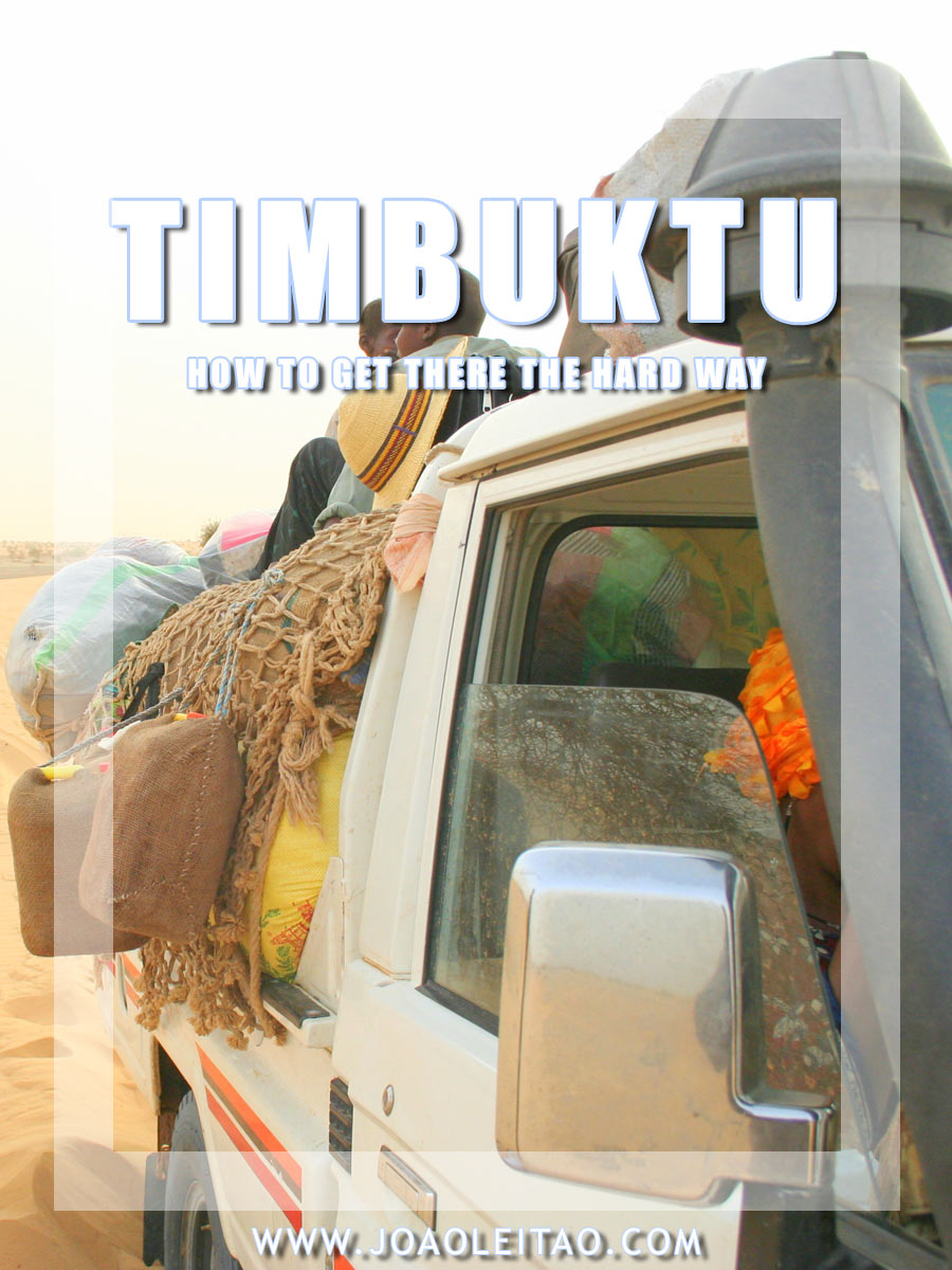 TRANSPORTATION TO TIMBUKTU, MALI