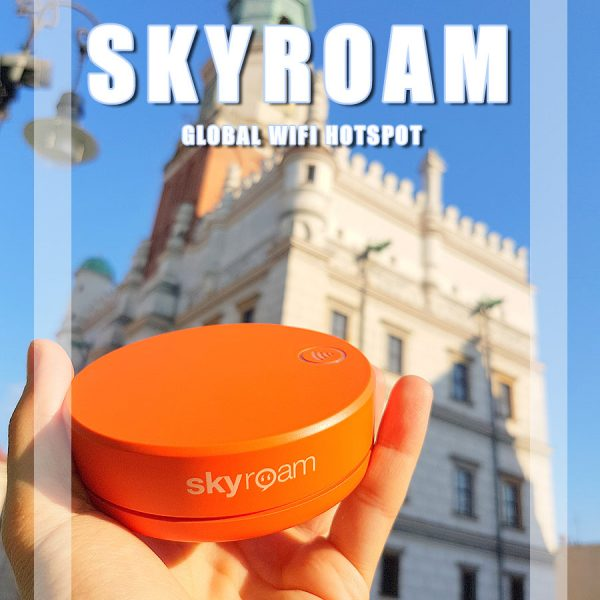 4G Skyroam Solis – Global WIFI Hotspot – Portable Internet