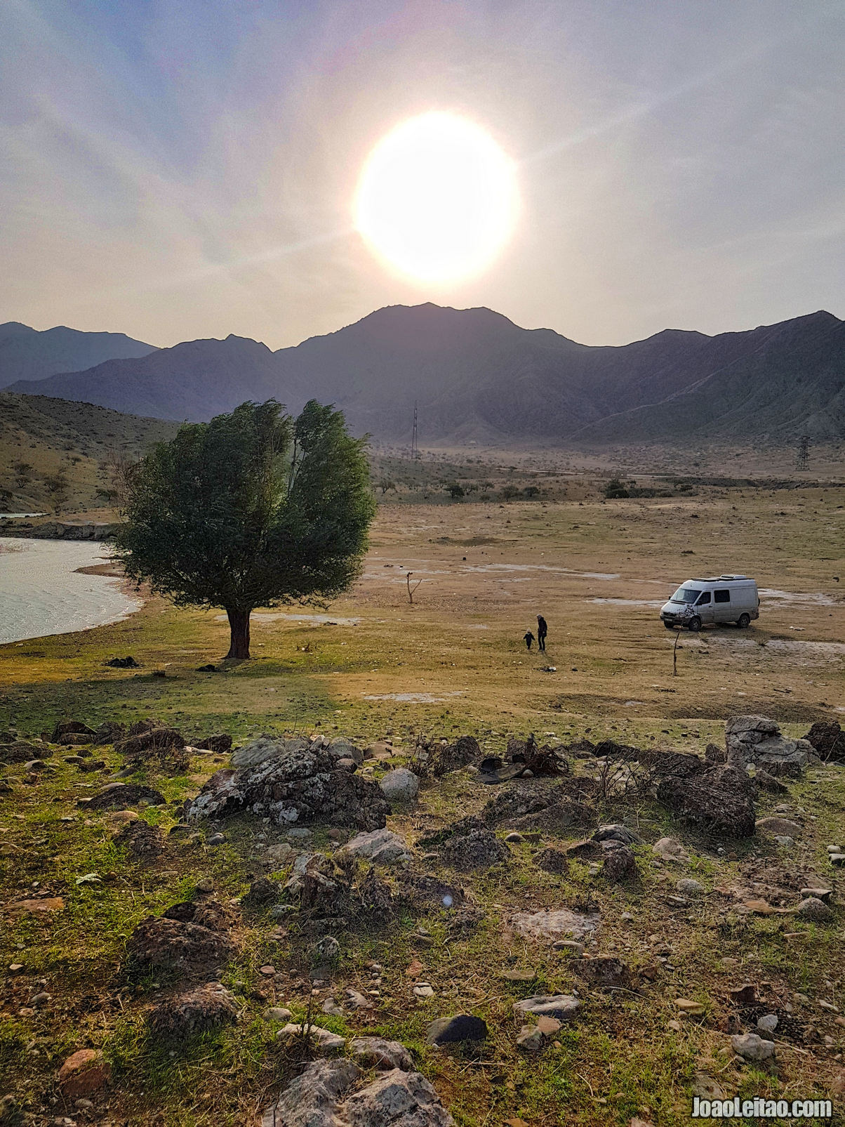 Van Life near Naryn River