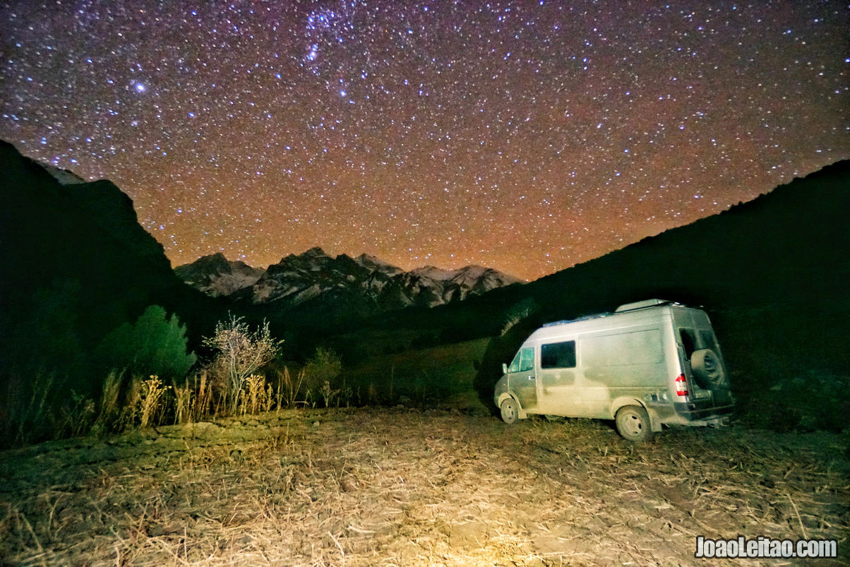 Overnight at Kyrgyz Ata National Park