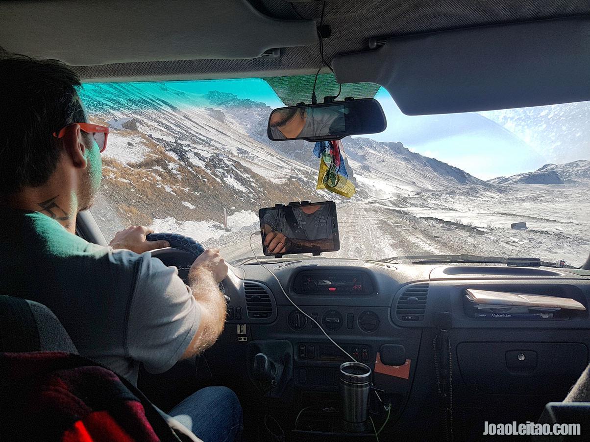 DRIVING IN KYRGYZSTAN