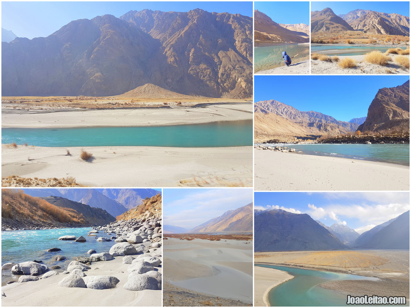 SANDY BEACHES WAKHAN