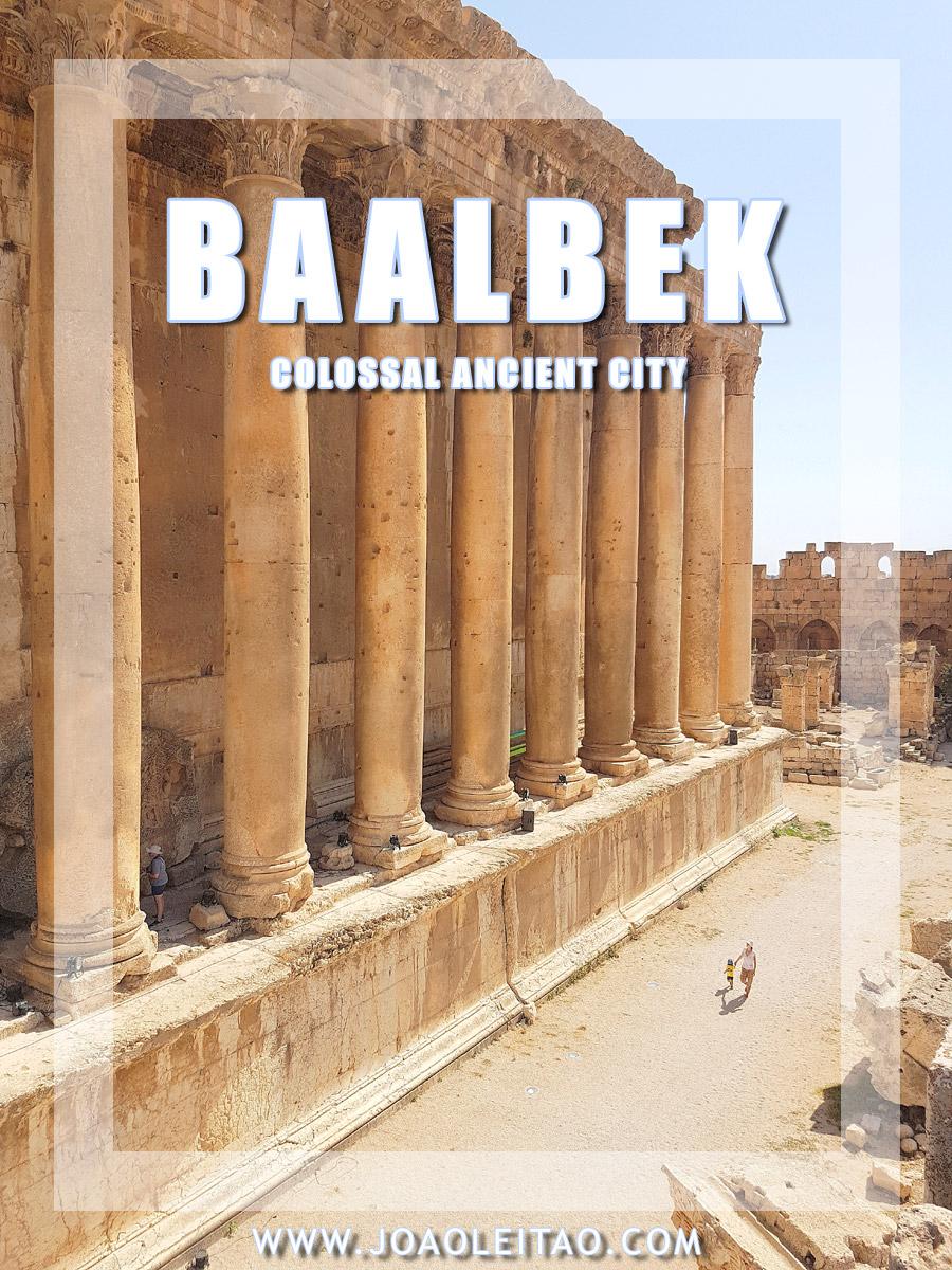 VISIT BAALBEK