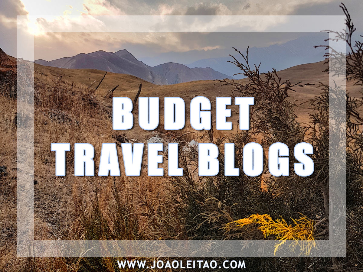 BUDGET TRAVEL BLOGS