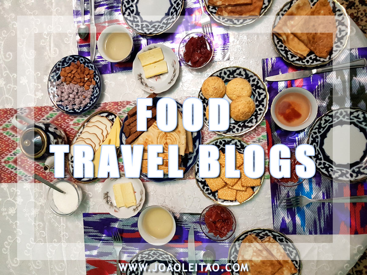 FOOD TRAVEL BLOGS
