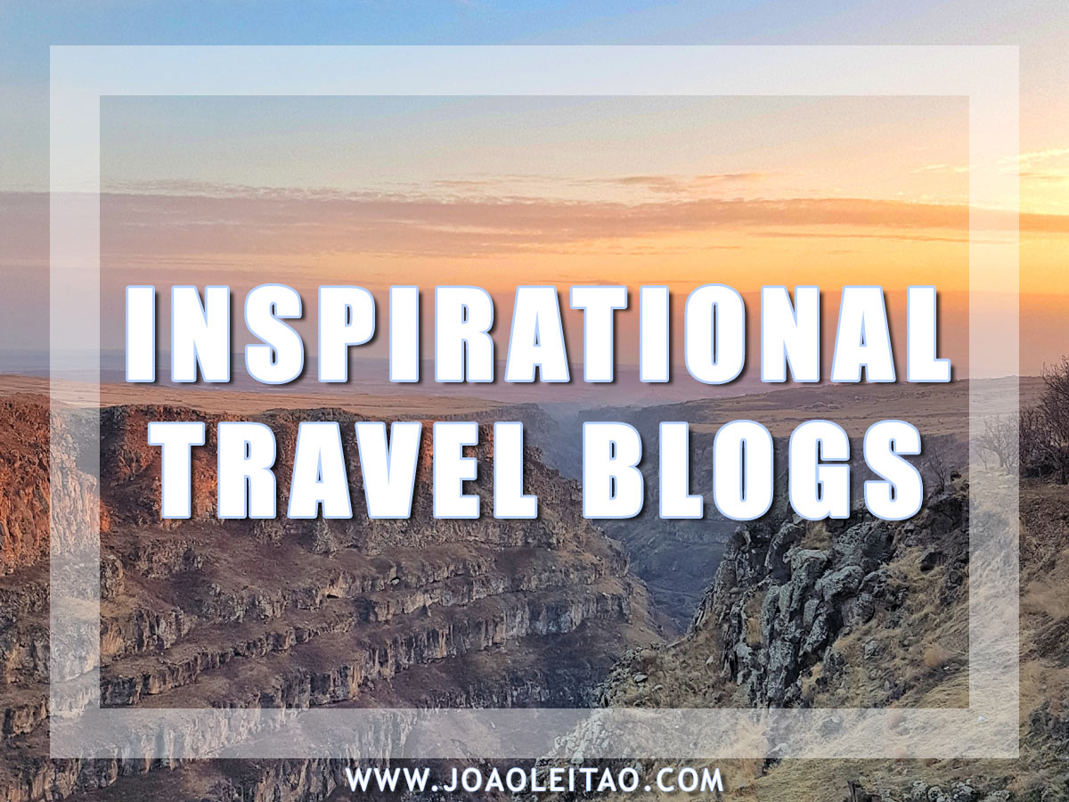INSPIRATIONAL TRAVEL BLOGS