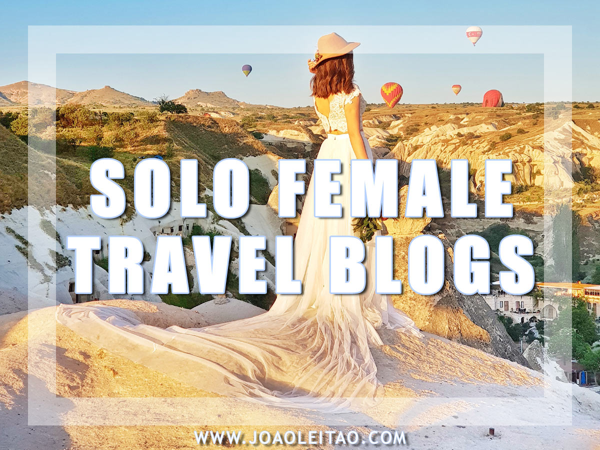 SOLO FEMALE TRAVEL BLOGS