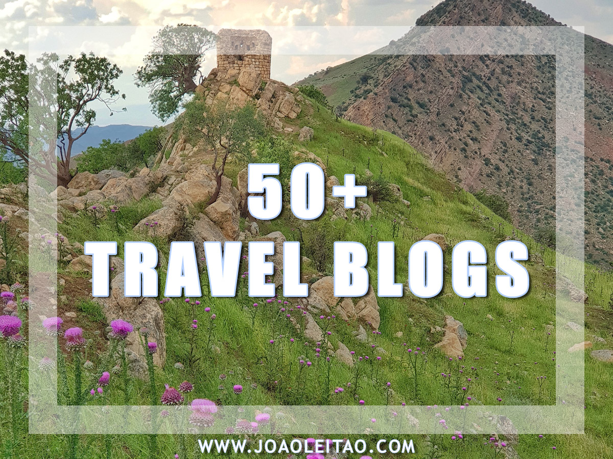 50 PLUS TRAVEL BLOGS