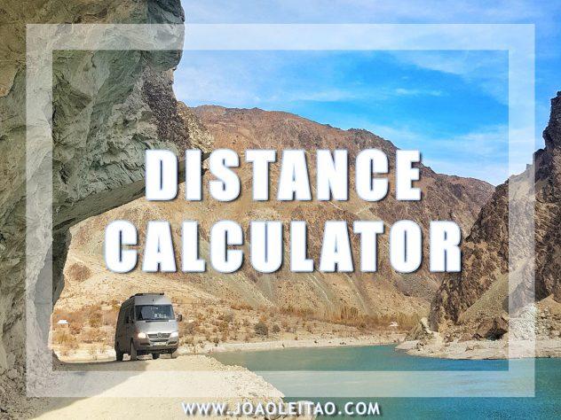 ROAD TRIP DISTANCE CALCULATOR
