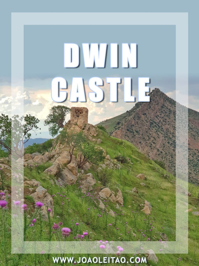 Dwin Castle in Iraq • Saladin's mountain fortress