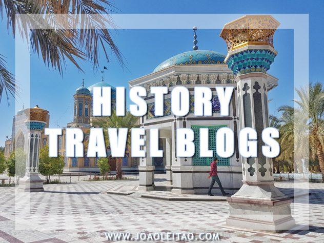 HISTORY TRAVEL BLOGS