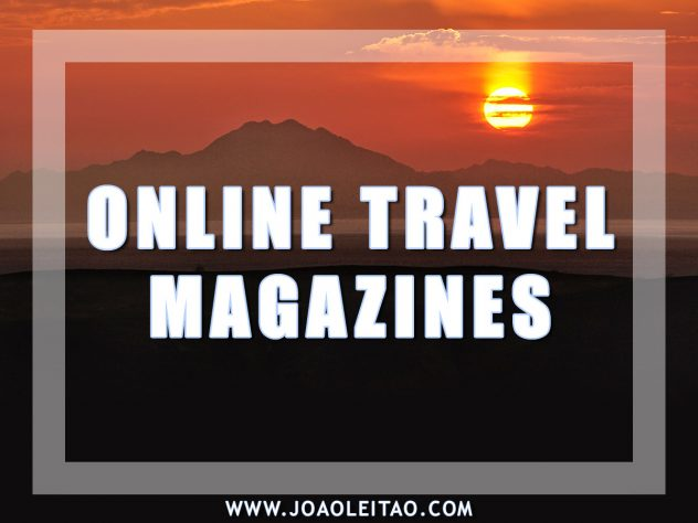 ONLINE TRAVEL MAGAZINES