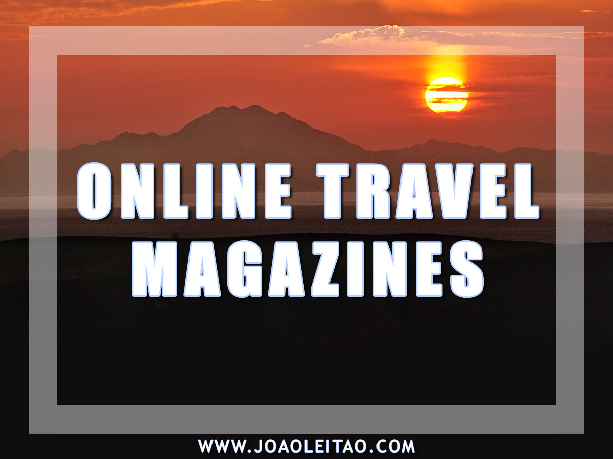 ONLINE TRAVEL MAGAZINES