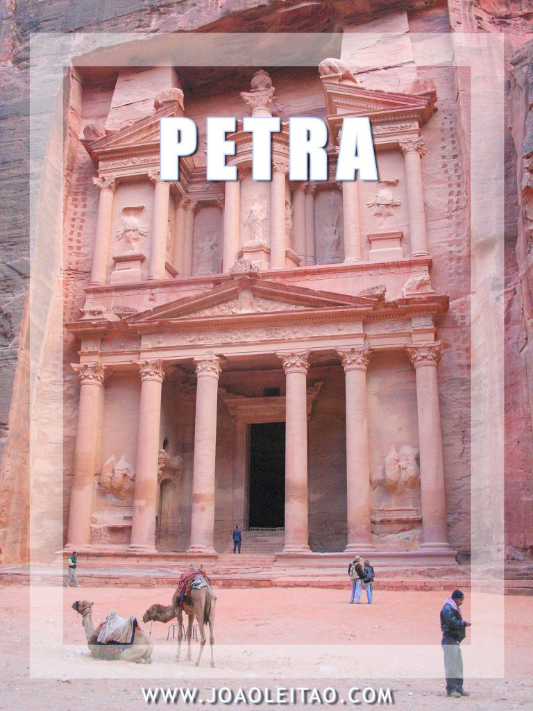 Petra - izgubljeni grad Nabatejaca - Jordan