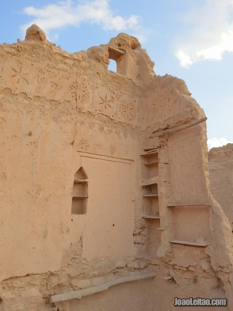 Beautiful old mud-brick villages in Saudi Arabia