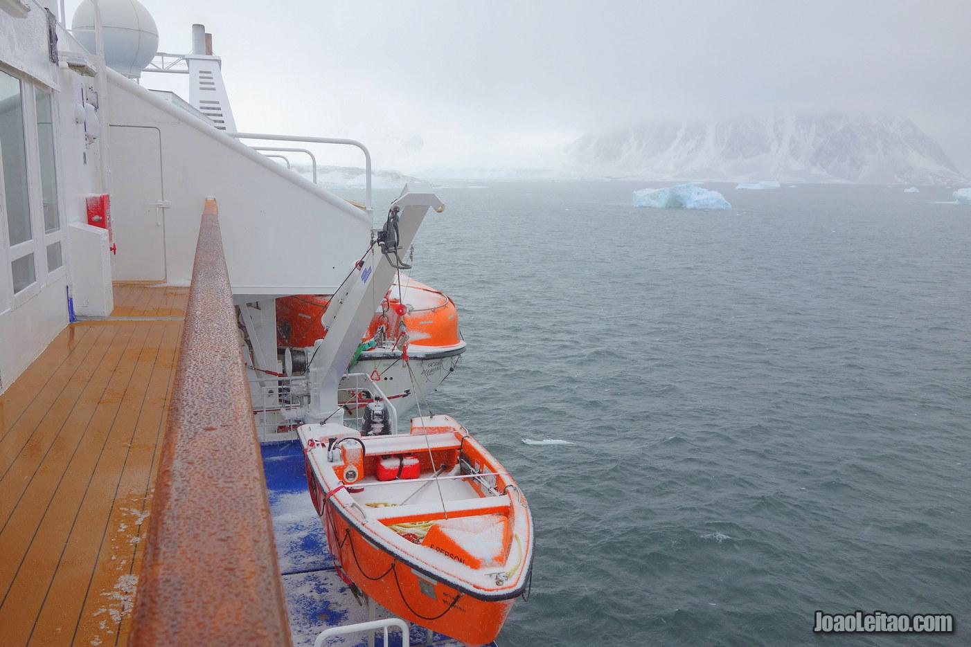 Adelaide Island in Antarctica