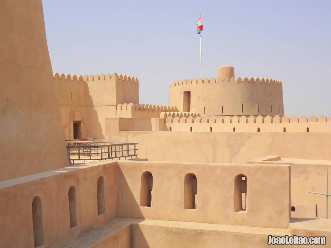 Visit Al Hazm Castle in Oman