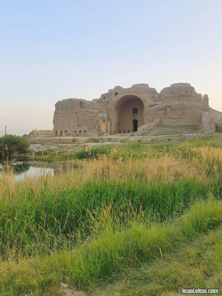 Visit Ardashir Palace in Iran