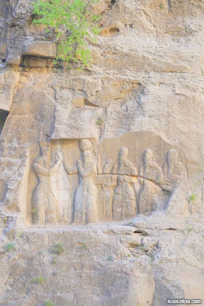 Visit Ardashir Rock Relief in Iran