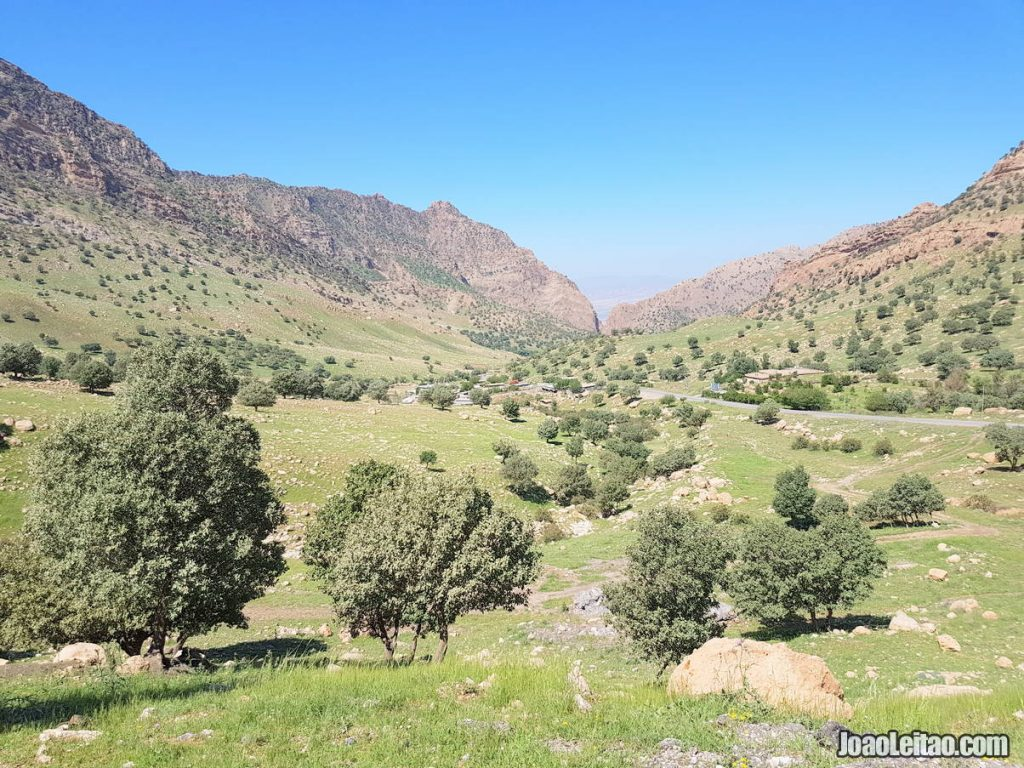 Bamo Mountain in Iraqi Kurdistan