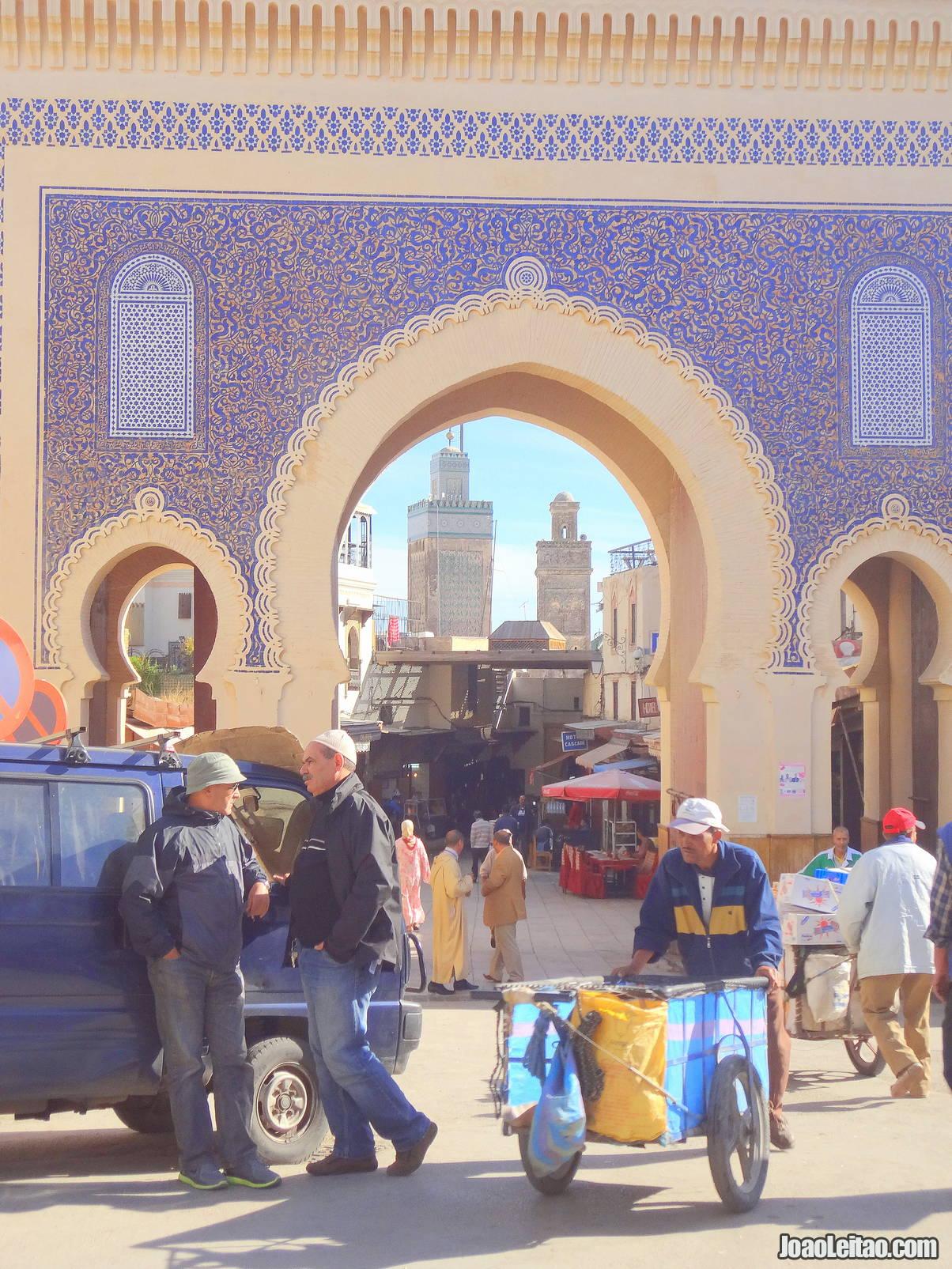 Bab Boujeloud in Fez