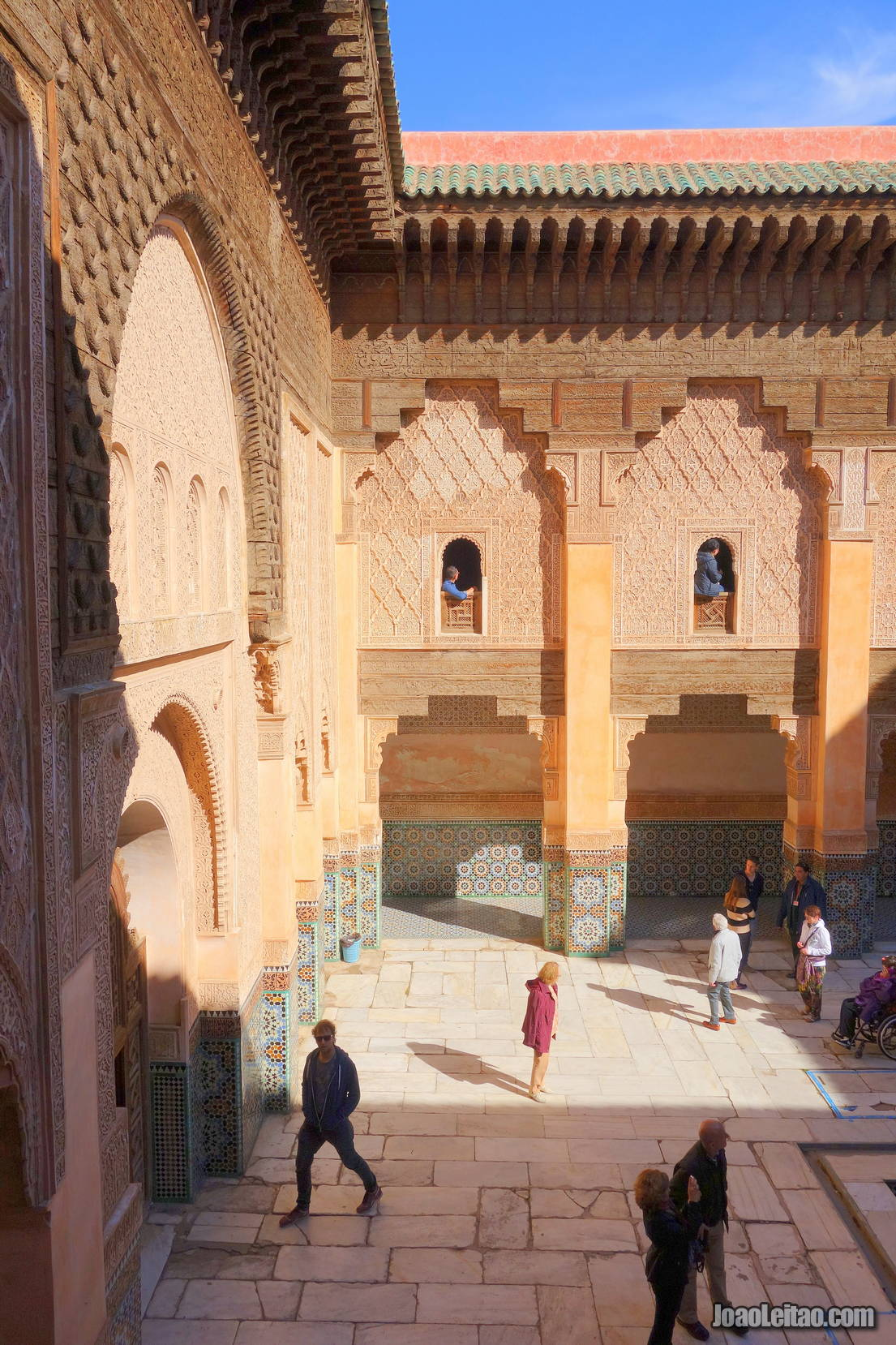 Ben Youssef Madrasa in Marrakesh