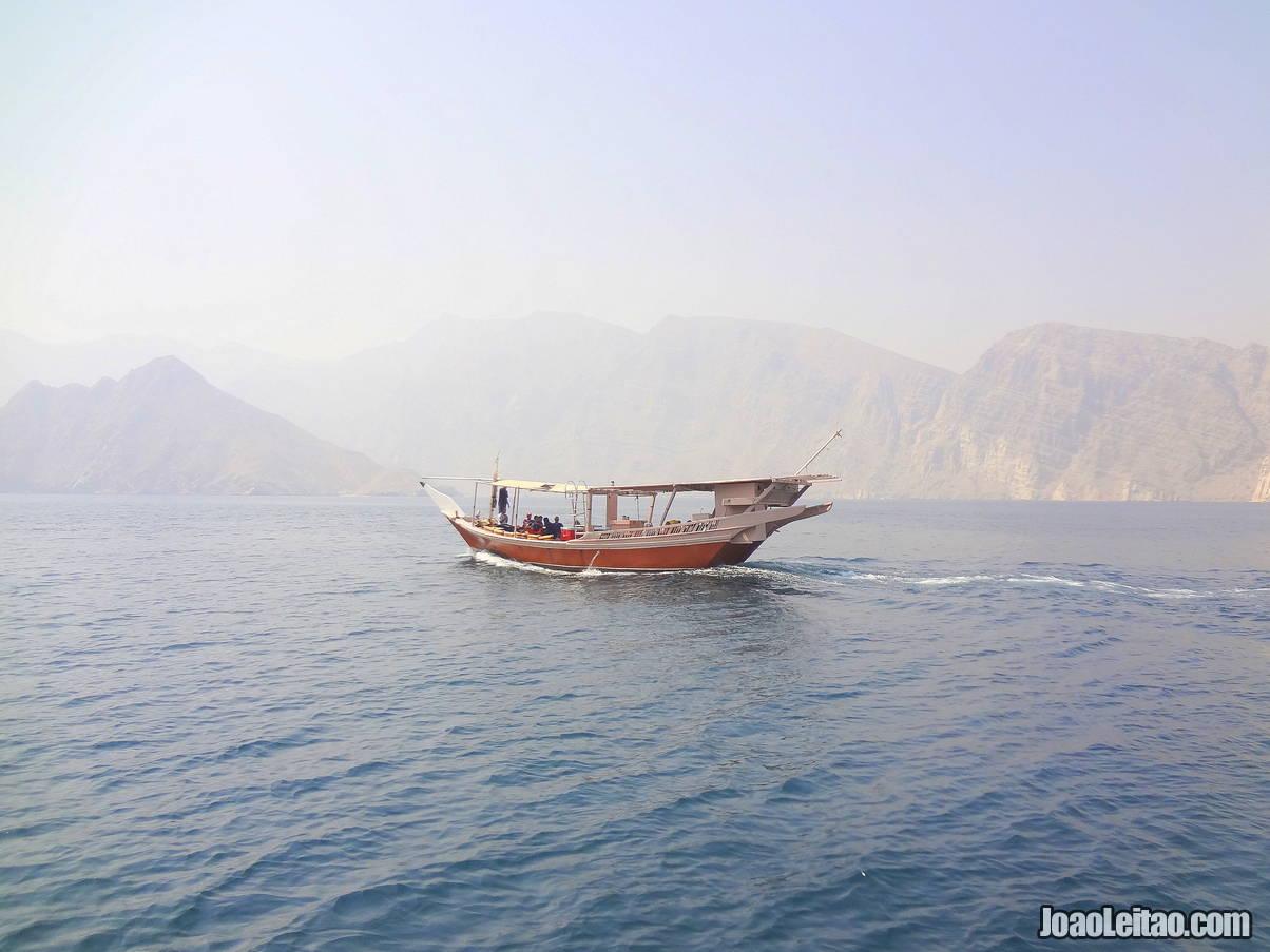 Boat tour in the Ras Musandam Peninsula