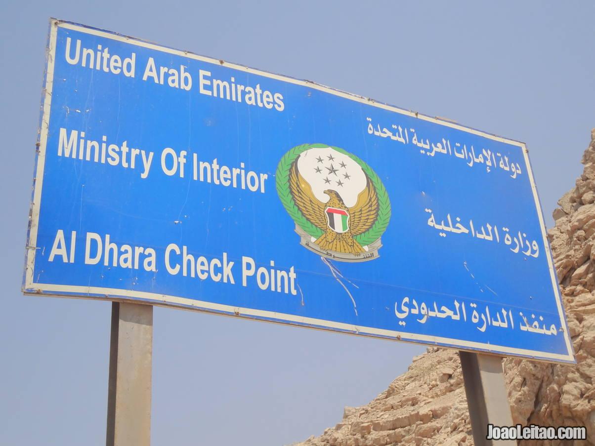 Al Dhara Check Point