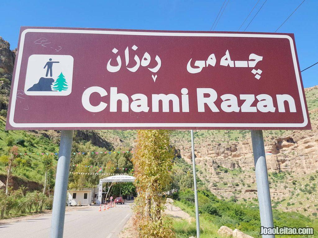 Chami Razan in Iraqi Kurdistan