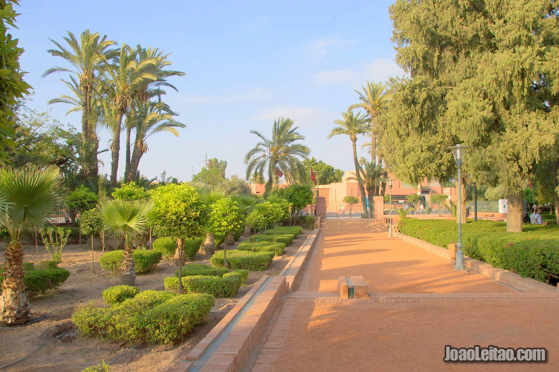 Cyber Park in Marrakesh